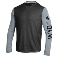 Under Armour® Long Sleeve Waffle Tee