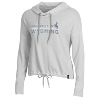 Under Armour® Ladies Light Weight Waffle Crop Hoodie