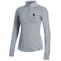 Under Armour® Ladies Ascend University Of Wyomig 1/4 Zip
