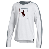 Under Armour® Youth Girls Ascend Long Sleeve Tee