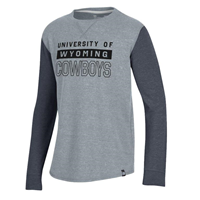 Under Armour® Youth Waffle Long Sleeve Tee