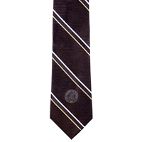5D. Wyoming Seal Striped Tie