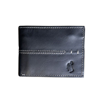 3G. Canyon Outback® Silas Canyon Bucking Horse Bifold Leather Wallet