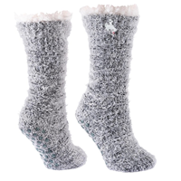 TCK® Snow Christie Bucking Horse Fuzzy Slipper Socks