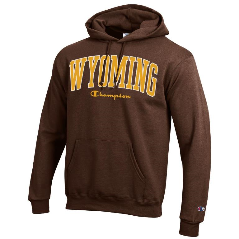 Champion® Wyoming Champion Script Co-Branded Hood (SKU 139791571424)