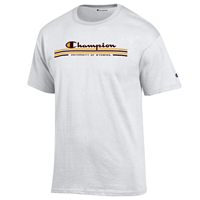 Champion® Script Branded University of Wyoming Tee