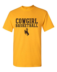 Cowgirl Basketball Tee