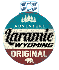 Blue 84® Adventure Laramie Sticker