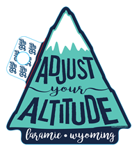 Blue 84® Adjust Your Altitude Sticker