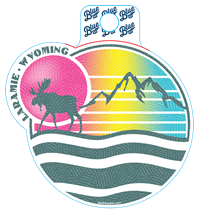 Blue 84® Rainbow Mountainscape Sticker