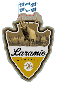 Blue 84® Laramie Arrowhead Sticker