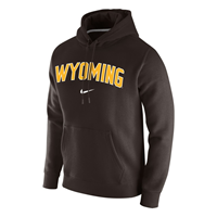 Nike® Club Fleece Wyoming Swoosh Hoodie