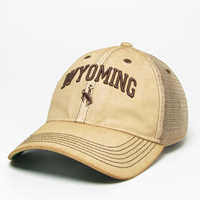 "Legacy® Wyoming Arch ""Dirty"" Trucker Soft Mesh Cap"