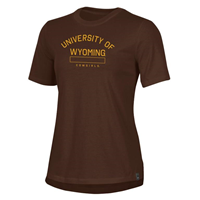 Under Armour® Performance Cotton Ladies Wyoming Cowgirls Tee