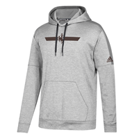 Adidas® Team Issue Locker Stripe Bucking Horse Hoodie