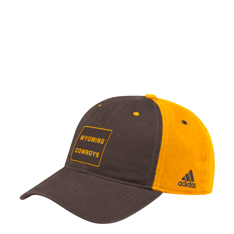 Adidas® Cotton Unstructured Wyoming Cowboys Cap (SKU 140019631433)