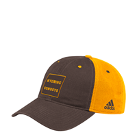 Adidas® Cotton Unstructured Wyoming Cowboys Cap