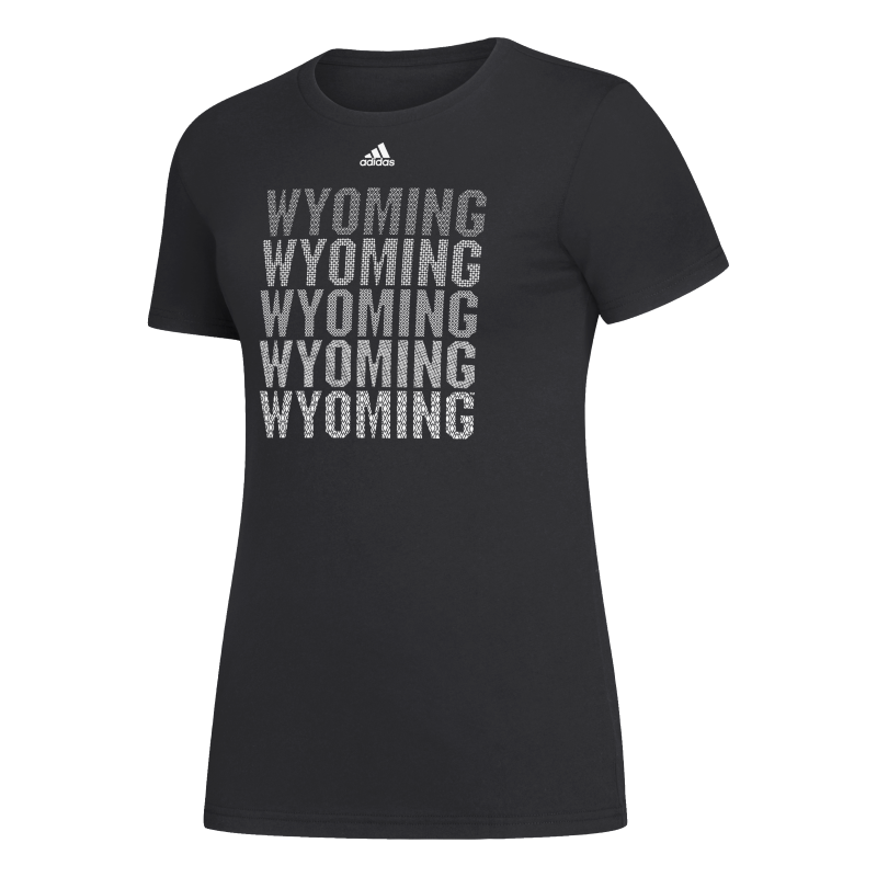 Adidas® Ladies Cotton Wyoming Repeat Tee (SKU 140024031433)