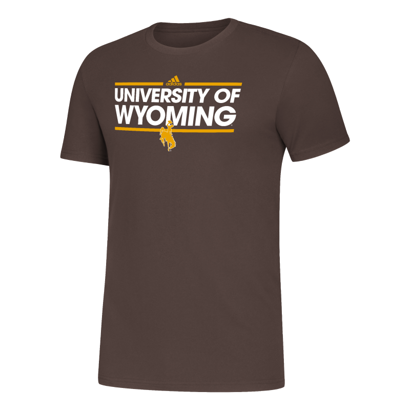 Adidas® Amplifier University of Wyoming Tee (SKU 140035161433)