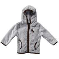 Colosseum® Infant Girls Bucking Horse Sherpa Jacket