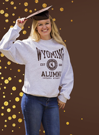 *GRAD FAIR SPECIAL* Jerzees® Wyoming Alumni Crew