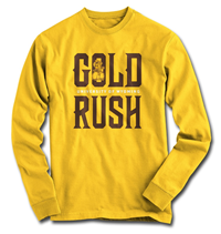 Pistol Pete Gold Rush Long Sleeve Tee