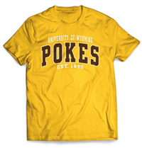 University of Wyoming Pokes Short Sleeve Tee