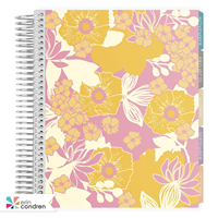 Planner Academic Pop Of Floral