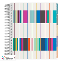 Planner Academic Retro Stripes