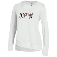 Gear for Sports® Cross Town Ladies Wyoming Script Crew