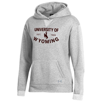 Under Armour® All Day Fleece Ladies University Of Wyoming Hoodie