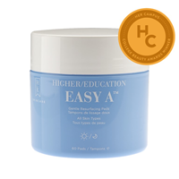 Higher Education Skincare Easy A Gentle Resurfacing Pads