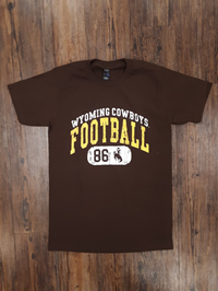 CI Sport® Soft Wyoming Cowboys Football Tee