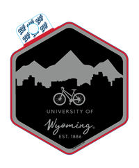 Blue 84® Bike University of Wyoming Sticker