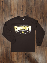 CI Sport® Long Sleeve Wyoming Football Tee