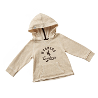 Colosseum® Toddler Girls French Terry Wyoming Pullover Hoodie