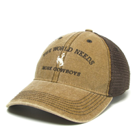 Legacy® Dta Trucker The World Needs More Cowboys Cap
