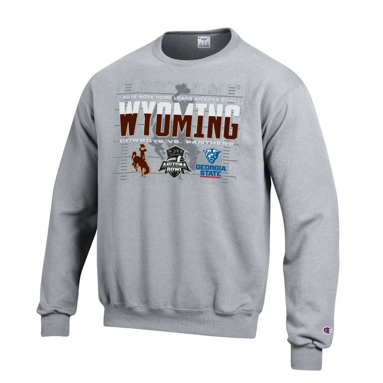 Champion® Wyoming Bowl Game 2019 Crew (SKU 140416931464)