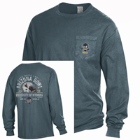 Gear for Sports® Garment Wash Pocket Wyoming Bowl Game 2019 Long Sleeve Tee