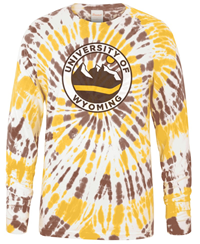 Uscape® Wyoming Tie Dyed Long Sleeve Tee