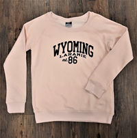 MV Sport® Ladies Raglan Fleece Wyoming Crew