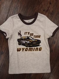 Colosseum® Toddler It's Go Time Wyoming Car Tee