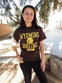 CI Sport® Wyoming Cowboys Basketball Tee
