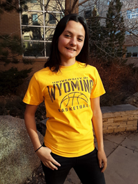 CI Sport® University of Wyoming Basketball Tee