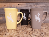 Bucking Horse Ceramic Mug with Soft Touch Finish