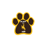 All Star Dogs® Paw Print Bucking Horse Magnet