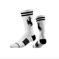 Strideline® Retro Crew Bucking Horse Sock
