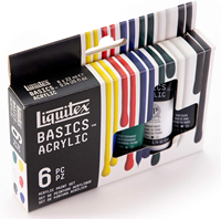 Paint Acrylic Basics Set Of 6