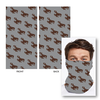 Bucking Horse Gaiter Face Mask
