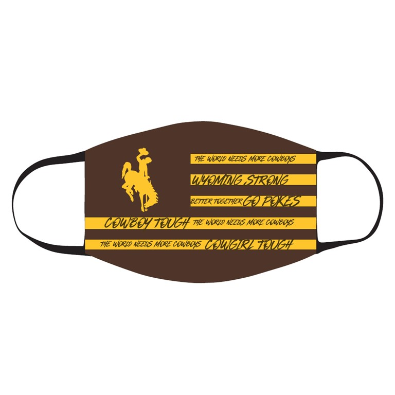 Neil® Bucking Horse Flag World Needs More Cowboys Face Masks (SKU 140777151509)
